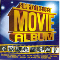 Cd Simply The Best Movie Album - Hits Do Cinema - Novo***