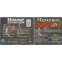 Cd House Definition - By Ricardo Guedes Coletanea Dance