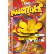 Cdvd-multioke-tributo A Ivete Sangalo-com Encarte Interno