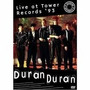 Dvd Live At Tower Records 93 Duran Duran Taxa De Envio 1,00