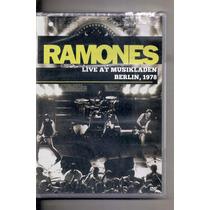Dvd Ramones Live At Musikladen Berlin 1978 Lacrado
