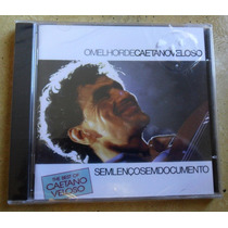 Cd Caetano Veloso - Sem Lenço Sem Documento - Lacrado.