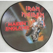 Iron Maiden Maiden England Picture Disc E M I Promotional