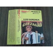Fita K7 Luiz Gonzaga Forró De Cabo A Rabo 1986 Rca Gonzagão