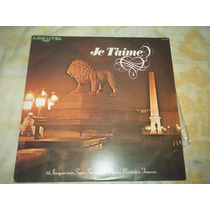 Lp Vinil Coletânea Je Taime Som Livre 1978 Ótimo Estado
