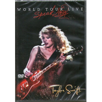 Dvd Taylor Swift - World Tour Live Speak Now - Novo***