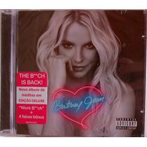 Cd Britney Spears Britney Jean 2013 Deluxe Edit Frete Grátis