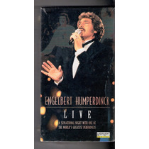 Engelbert Humperdinck - Live - Vhs Lacrado Made In Usa