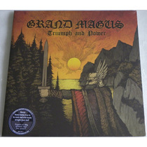 Grand Magus Triumph And Power Lp Manowar Saxon Iron Maiden
