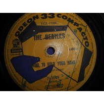 Compacto - The Beatles - I Want To Hold Your Hand
