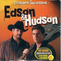 Edson E Hudson Cd Promo Grandes Sucessos 12 Faixas - Lacrado