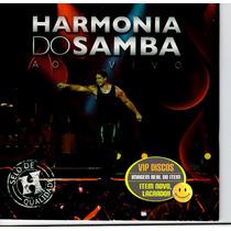 Harmonia Do Samba Cd Promo Ao Vivo Saulo Fernandes - Lacrado