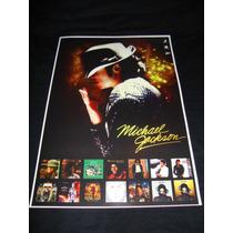 Michael Jackson Poster /cartaz Do Rei Do Pop (king Of Pop)