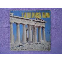 Lp O Melhor Da Música Italiana P/1989 Coletânea