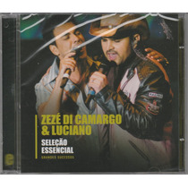 Zezé De Camargo & Luciano - Cd Seleção Essencial - Lacrado