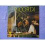 Lp Ricordi P/1979-14 Melhores Músicas Romanticas Italianas