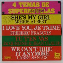 Compacto Vinil 4 Temas De Supernovelas - 1976 - Beverly