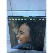 Lp Sandra De Sá Lucky! C/ Encarte Zerado