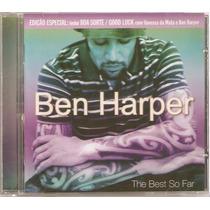 Cd Ben Harper - The Best So Far