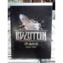 Led Zeppelin Family Tree Cd+dvd Original Ótimo Estado