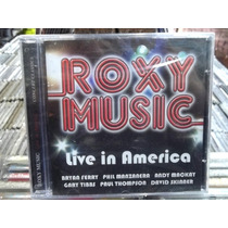 Roxy Music Live In America Cd Original Lacrado