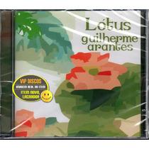 Cd Guilherme Arantes Lotus - Novo Lacrado Raro