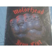 Lp Motorhead Album Iron Fist Excelente Estado