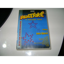 Dvd O Karaoke Total Tributo A Jota Quest Multioke Cdvd
