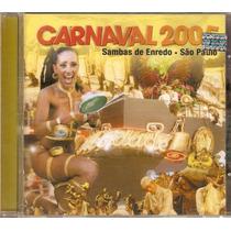 Cd Sambas Enredo - Carnaval 2005 São Paulo - Novo***