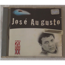 Cd José Augusto 20 Musicas Do Sec X X 1998 Pfr8