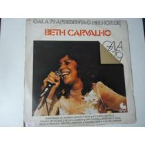 Disco Vinil Lp Beth Carvalho Gala 79 Lindooo##