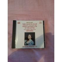 Cd Mozart - Violin Concerto Nº4, K.218 & Sinf. Concert. K364