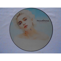 -lp Picture Disc Madonna P/1987 The Look Of Love