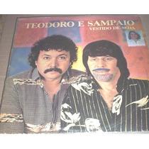 Disco Vinil Teodoro E Sampaio - Vestido De Seda