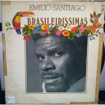 Lp Mpb: Emilio Santiago - Brasileiríssimas - Frete Grátis