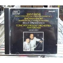 Saint Saens Piano Concerto N.2 Cd Importado Excelente Estado