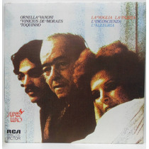 Lp Ornela Vanoni, Vinicius De Moraes E Toquinho - 1976 - Rca
