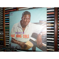 Lp The Best Of Nat King Cole (capa Sanduíche - Impecável)