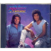 Cd João Mineiro & Marciano Tarde Demais Para Esquecer 1990