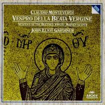 Cd Monteverdi - Vespro Della Beata Vergine - Gardiner 2cds