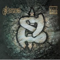 Cd Saxon Solid Ball Of Rock [eua] Novo Lacrado