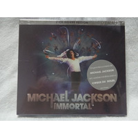 Cd - Box Michael Jackson - Immortal- Deluxe Edition - Duplo