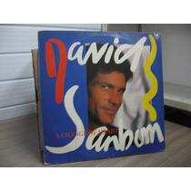 Lp David Samborn A Change Of Heart Exx Estado + Encarte