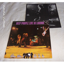 Lp Deep Purple Live In London 1982 Emi Harvest Nacional