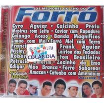 Cd Os Melhores Do Ano Do Forro - Vol 2 -original-cdlandia