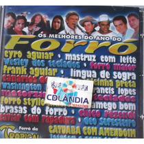 Cd Os Melhores Do Ano Do Forro - Vol 1 -original-cdlandia