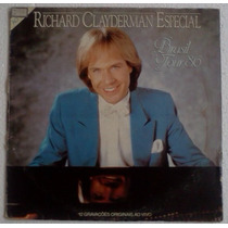 Lp Richard Clayderman Especial Brasil Tour 86 Epic