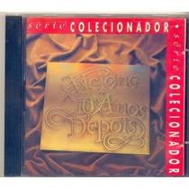 Cd Alcione 10 Anos Depois - 1982 - Série Colecionador