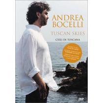 Dvd Andrea Bocelli Tuscan Skies [eua] Novo Lacrado