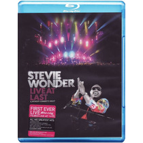 Blu-ray Stevie Wonder Live At Last [eua] Novo Lacrado